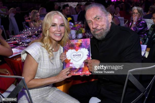 Eloise Broady and John Paul DeJoria attend the 22nd annual Keep Memory Alive 'Power of Love Gala' benefit for the Cleveland Clinic Lou Ruvo Center...