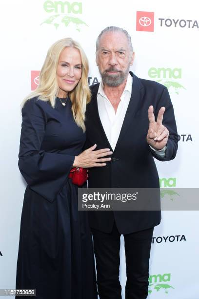 Eloise Broady DeJoria and John Paul DeJoria attend 29th Annual Environmental Media Awards at The Montage Beverly Hills on May 30 2019 in Beverly...
