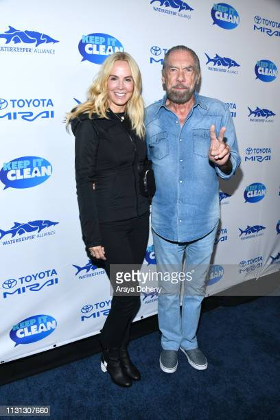 Eloise Broady DeJoria and John Paul Jones DeJoria at 5th Annual Keep It Clean Live Comedy Benefit For Waterkeeper Alliance at Largo At The Coronet on...