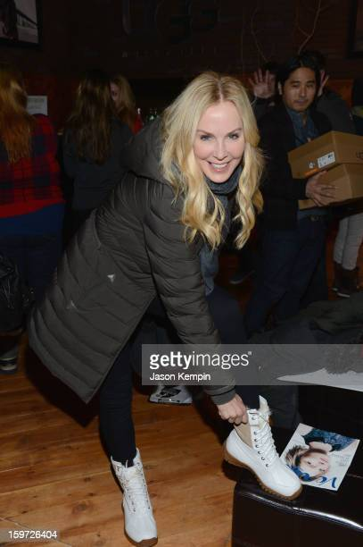 Eloise Broady DeJoria attends Day 2 of UGG at Village At The Lift 2013 on January 19 2013 in Park City Utah
