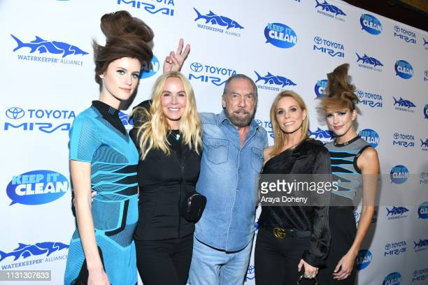 Eloise Broady DeJoria John Paul Jones DeJoria and Cheryl Hines at 5th Annual Keep It Clean Live Comedy Benefit For Waterkeeper Alliance at Largo At...