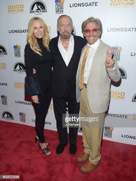 """Eloise Broady, John Paul DeJoria and Geraldo Rivera attend the """"Good Fortune"""" New York Premiere at AMC Loews Lincoln Square 13 theater on June 22,..."""