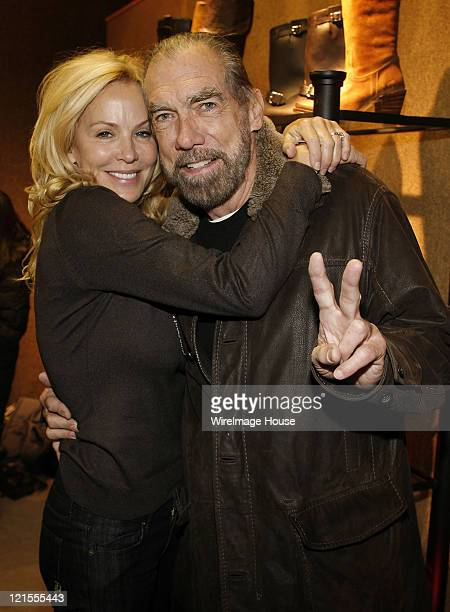 Eloise DeJoria and hairstylist John Paul DeJoria at Hard Rock's Rehab at House of Hype on January 19, 2008 in Park City, Utah.