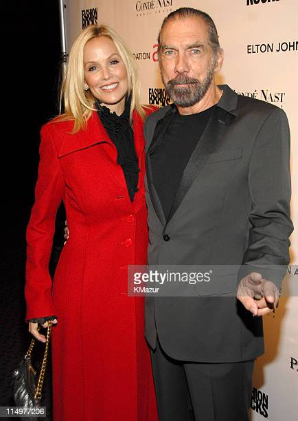 Eloise Dejoria and John Paul DeJoria at Conde Nast Media Group presents Elton John and the debut of his new album 'The Captain The Kid' at the...