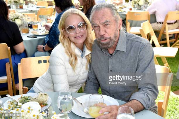 Eloise DeJoria and John Paul DeJoria attend Hearst Castle Preservation Foundation Lunch at the Piedras Blancas Ranch at Hearst Ranch on September 29...