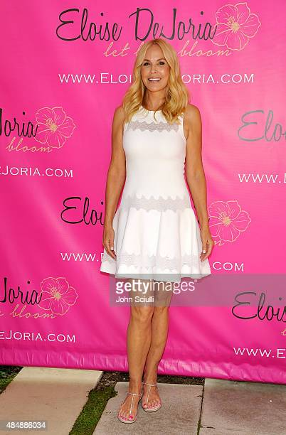 Eloise Dejoria attends the Eloise Dejoria Fashionwear Launch at a Private Residence on August 22 2015 in Malibu California