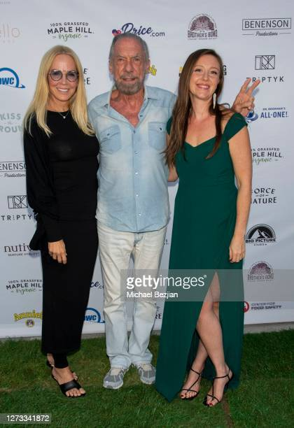 Eloise DeJoria John Paul DeJoria and Rebecca Harrell attend Kiss The Ground Los Angeles DriveIn Special Screening at Andaz West Hollywood on...