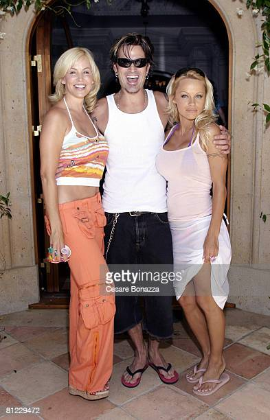 Eloise DeJoria Tommy Lee and Pamela Anderson