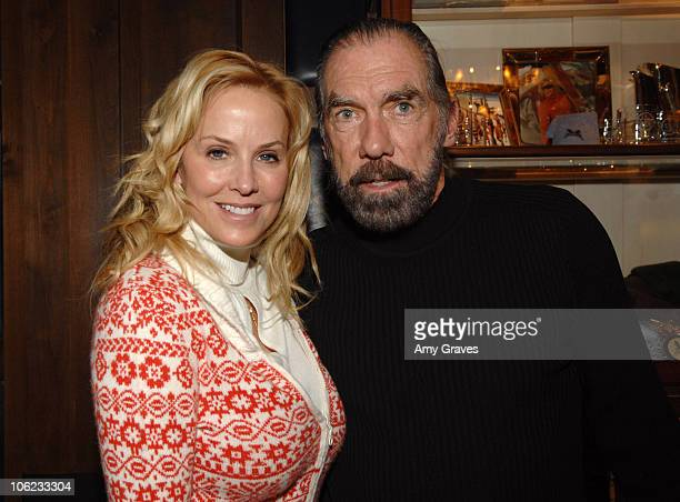 Eloise DiJoria and John Paul DeJoria during 2007 Park City The Creative Coalition Dinner at Talisker Club in Park City Utah United States