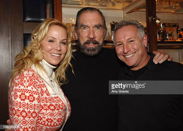 Eloise DiJoria John Paul DeJoria and Joel Roman during 2007 Park City The Creative Coalition Dinner at Talisker Club in Park City Utah United States