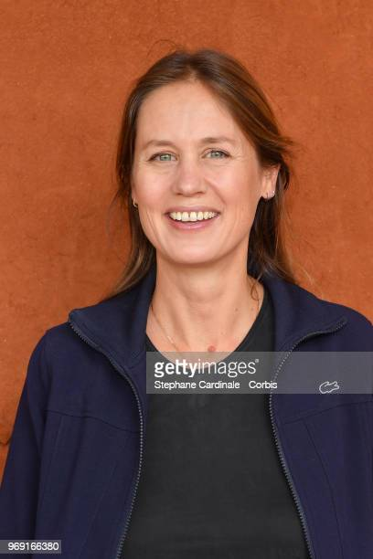 Eloise Lang attends the 2018 French Open Day Twelve at Roland Garros on June 7 2018 in Paris France