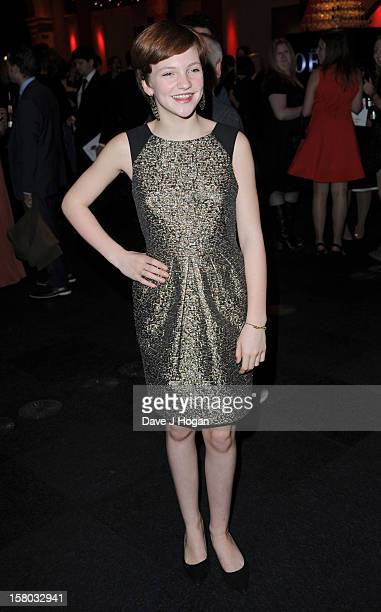 Eloise Laurence attends the British Independent Film Awards at Old Billingsgate in London on December 9 2012 in London England