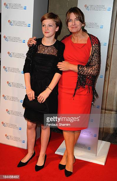 Eloise Laurencei attends the 56th BFI London Film Festival Awards at Banqueting House on October 20 2012 in London England
