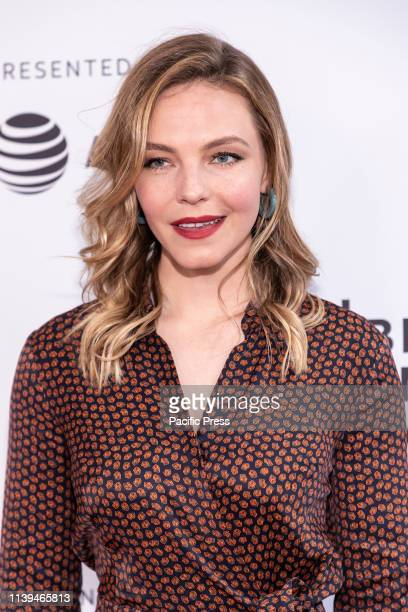 Eloise Mumford attends the Standing Up Falling Down premiere during 2019 Tribeca Film Festival at SVA Theater Manhattan