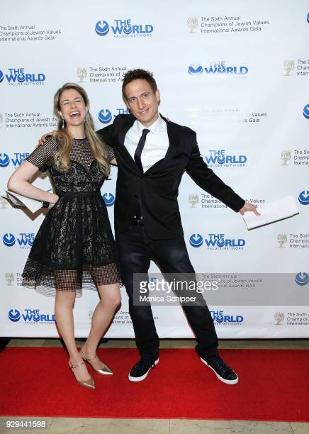 Elon Gold attends the 2018 World Values Network Champions of Jewish Values Awards Gala at The Plaza Hotel on March 8 2018 in New York City