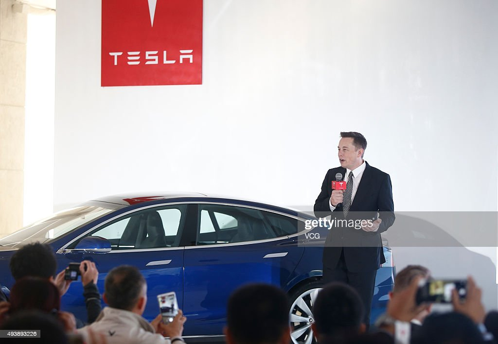 Tesla Update v7.0 Enables Self-driving Test In China : News Photo