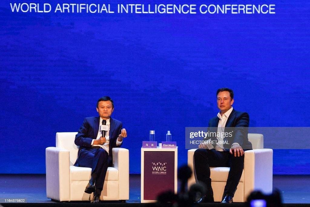 CHINA-TECHNOLOGY-AI-CONFERENCE : News Photo