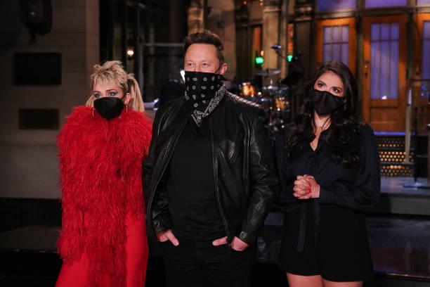 "NY: NBC'S ""Saturday Night Live"" - Elon Musk, Miley Cyrus"