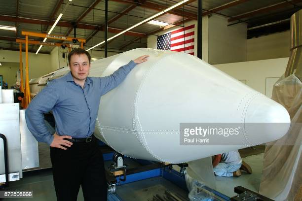 Elon Musk multi millionaire rocket scientist Tesla and Space X founder and the man who inspired Tony Stark's character in Jon Favreau's 'Iron Man'...