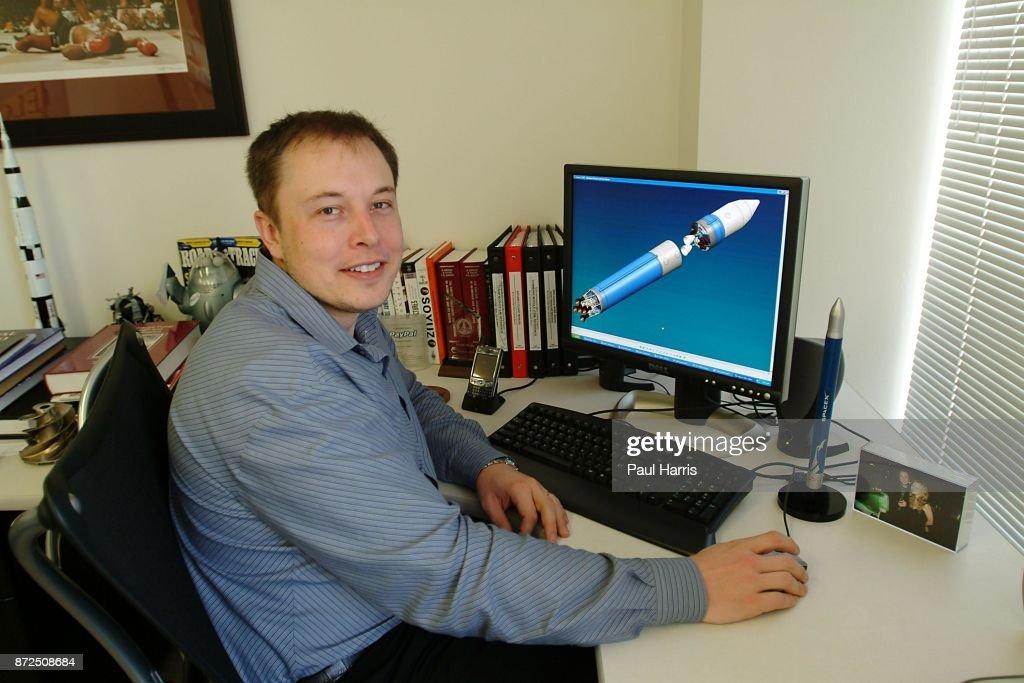 Elon Musk : News Photo
