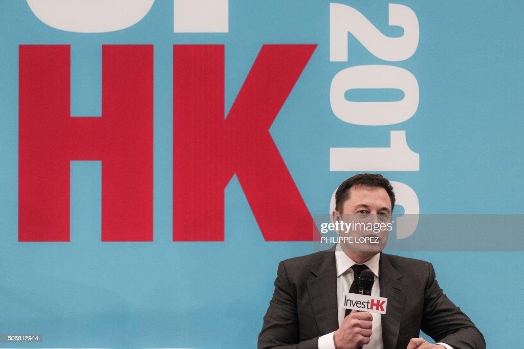 HONG KONG-US-TESLA-ECONOMY-AUTO-TECHNOLOGY : News Photo