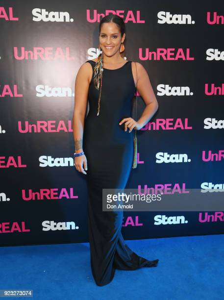 Elora Murger attends the UnREAL Australian Premiere Party on February 23 2018 in Sydney Australia
