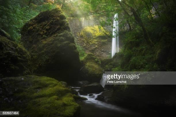 elowah falls oregon