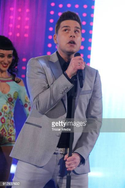 Eloy during the TV Show 'Meine Schlagerwelt Die Party' hosted by Ross Antony on January 31 2018 in Leipzig Germany