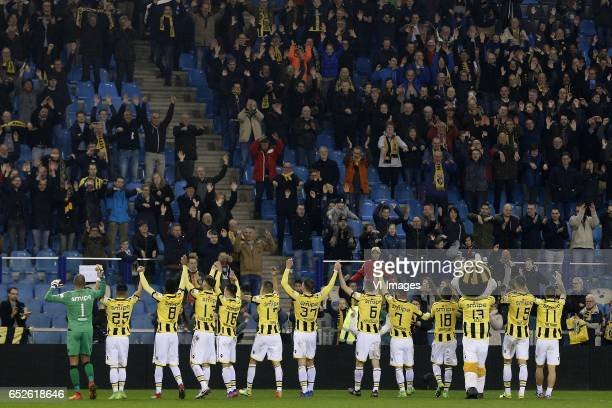 Eloy Room of Vitesse Navarone Foor of Vitesse Mukhtar Ali of Vitesse Ricky van Wolfswinkel of Vitesse Mitchell van Bergen of Vitesse Kevin Diks of...