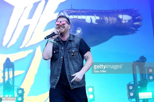ElP of Run the Jewels performs in concert on the last day of the Austin City Limits Music Festival at Zilker Park on October 15 2017 in Austin Texas