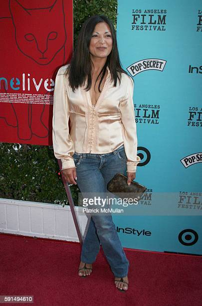 Elpidia Carrillo attends Nine Lives Premiere Los Angeles Film Festival at Academy of Motion Pictures and Sciences on June 21 2005