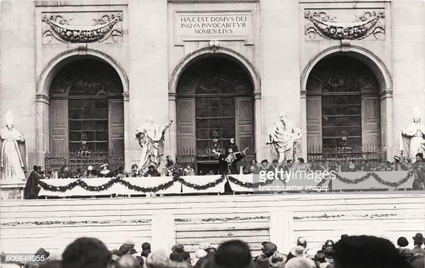 Elsa and Berta Grete Wiesenthal in the >Lanner / Schubert< Waltz Vienna About 1908 Photograph by Rudolf Jobst