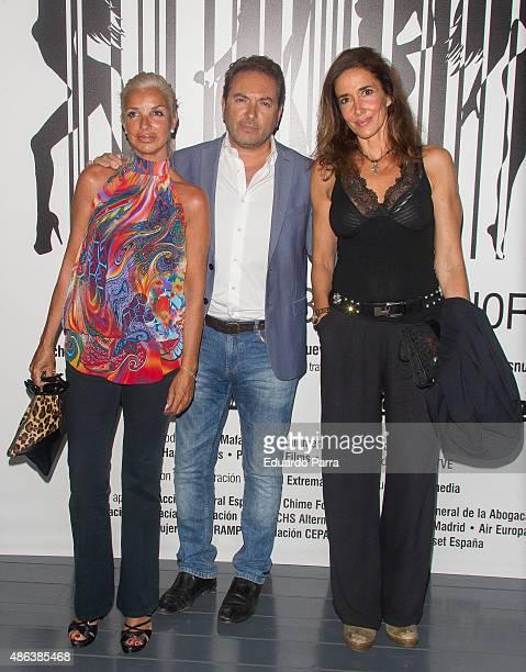 Elsa Anka attends 'Chicas nuevas 24 horas' `premiere at Matadero Madrid on September 3 2015 in Madrid Spain