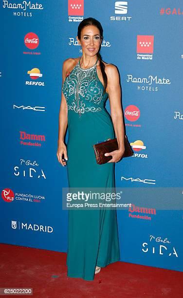 Elsa Anka attends 'Gala Sida' 2016 at Cibeles Palace on November 21 2016 in Madrid Spain
