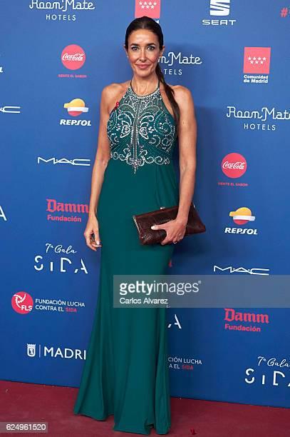Elsa Anka attends 'Gala Sida' 2016 at Madrid City Hall on November 21 2016 in Madrid Spain
