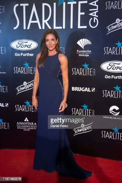 Elsa Anka attends Starlite Gala on August 11 2019 in Marbella Spain