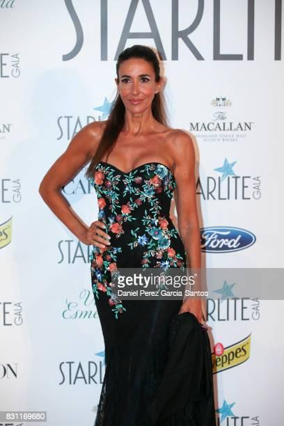 Elsa Anka attends Starlite Gala on August 13 2017 in Marbella Spain