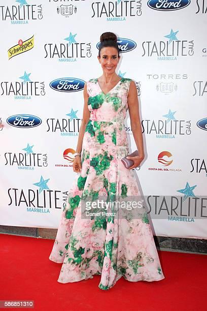 Elsa Anka attends Starlite Gala on August 6 2016 in Marbella Spain