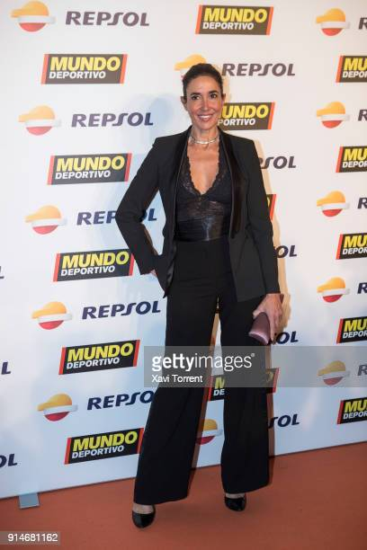 Elsa Anka attends the photocall of the 70th Mundo Deportivo Gala on February 5 2018 in Barcelona Spain