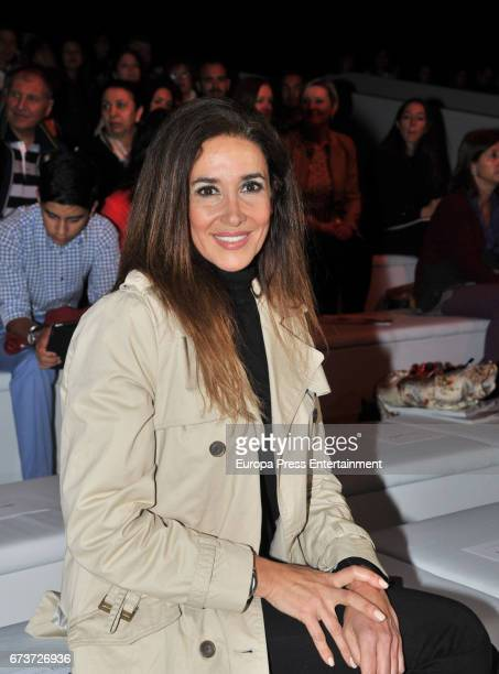 Elsa Anka attends the Studio St Patrick show during Barcelona Bridal Fashion Week 2017 on April 26 2017 in Barcelona Spain
