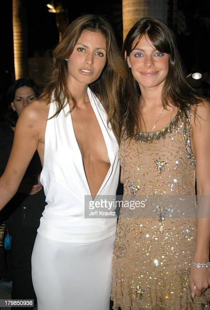Elsa Benitez and Daniela Cicarelli during MTV Video Music Awards Latin America 2003 Red Carpet at Jackie Gleason Theater in Miami Beach Florida...
