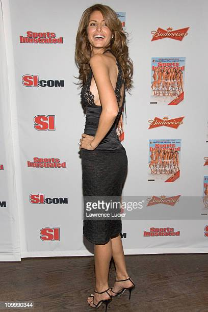 Elsa Benitez during 2006 Sports Illustrated Swimsuit Issue Press Conference at Crobar in New York City New York United States