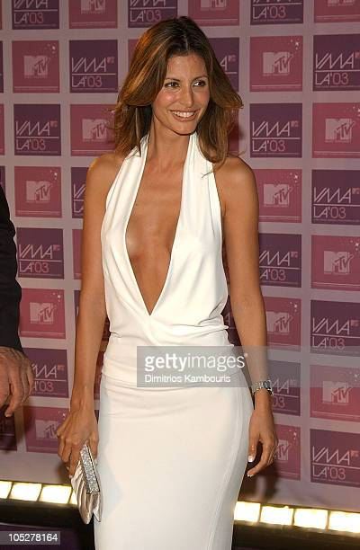 Elsa Benitez during MTV Video Music Awards Latin America 2003 Arrivals at The Jackie Gleason Theater in Miami Beach Florida United States