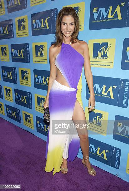 Elsa Benitez during MTV Video Music Awards Latinoamerica 2002 Arrivals at Jackie Gleason Theater in Miami Florida United States