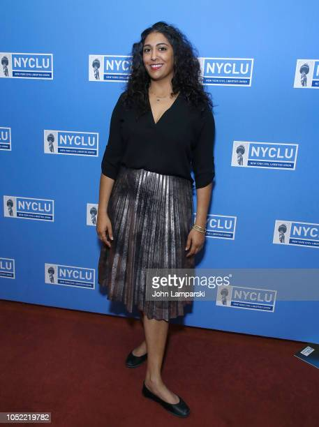 Elsa Davis attends the 16th Annual Broadway Stands Up For Freedom Concert We The People at Town Hall on October 15 2018 in New York City
