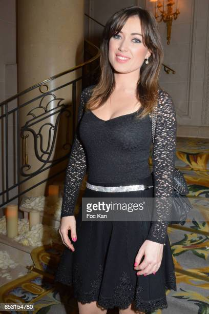 Elsa Esnoult attends 'La Recherche en Physiologie' Charity Gala at Four Seasons Hotel George V on March 13 2017 in Paris France