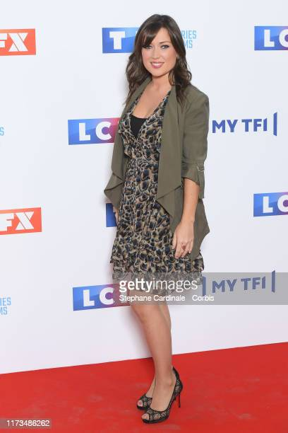 Elsa Esnoult attends the Groupe TF1 Photocall At Palais De Tokyo on September 09 2019 in Paris France