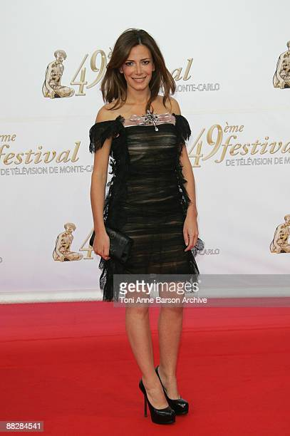Elsa Fayer arrives at the 49th Monte Carlo Television Festival at the Grimaldi Forum on June 7 2009 in MonteCarlo Monaco