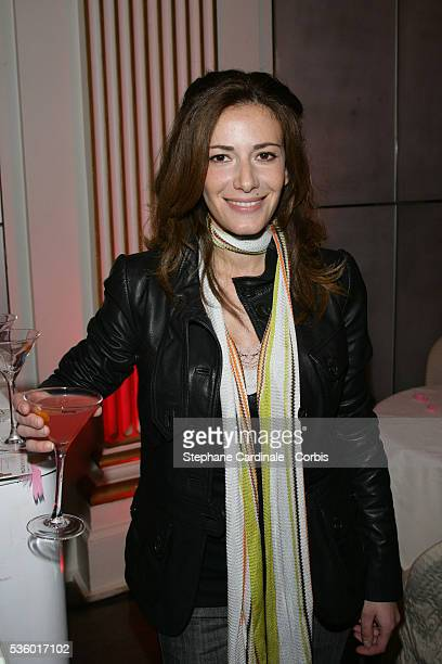 Elsa Fayer attends the C2 Stoper party held in Paris