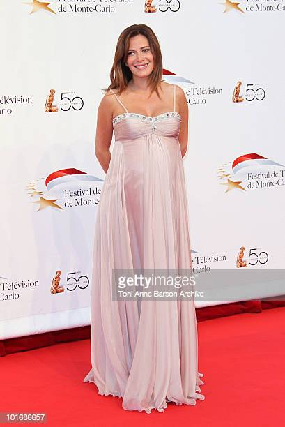 Elsa Fayer attends the opening night of the 2010 Monte Carlo Television Festival held at the Grimaldi Forum on June 6 2010 in MonteCarlo Monaco